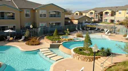 Hidden Creek Apartments Allen TX Pool
