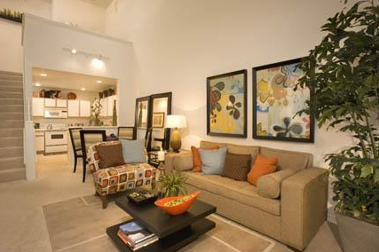 Living Area at Gables Turtle Creek Cityplace