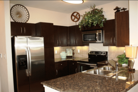 The Meritage Apartments Kitchen
