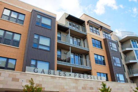 Exterior View of Gables Austin apartments Downtown