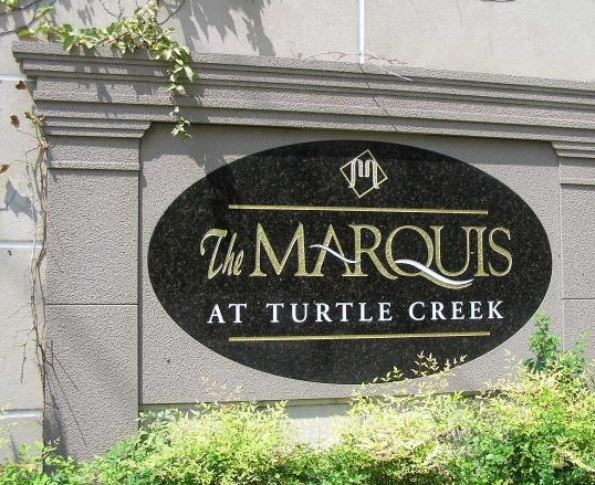 Entrance Sign View of Marquis at Turtle Creek