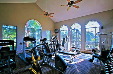 Fitness Studio at Gables Central Park Apartments in Austin, Texas