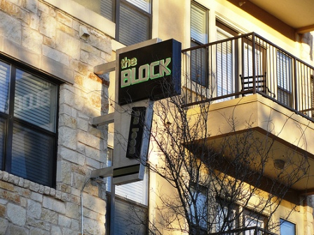 Block on Leon Apartments Exterior
