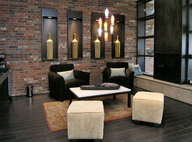 Resident Lounge at Vue Greenville Apartments