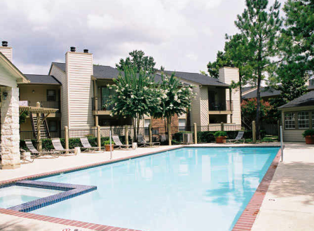 Pool View of Cypress TX Apartments