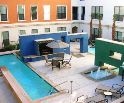 Lofts at Briar Forest Sparkling Pool