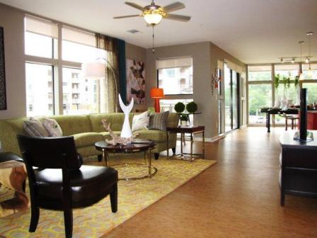 Open Floor Plan at Cole Apartments in Austin, TX