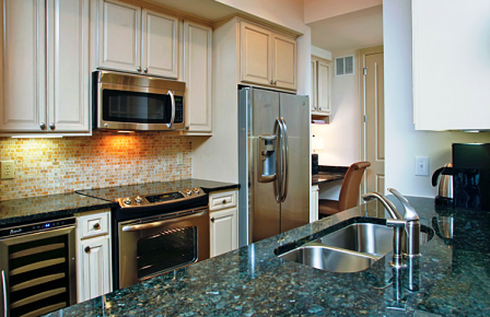 Granite Counters at The Belle Meade River Oaks