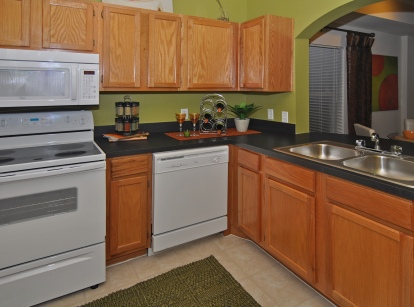 Gourmet Kitchens at these Downtown Fort Worth Apartments
