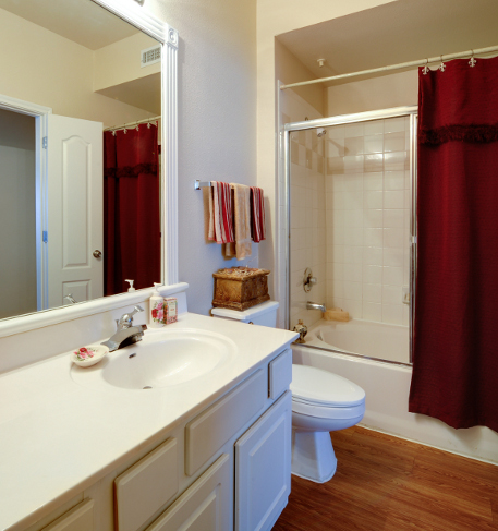 Far North San Antonio Apartments with Spacious Bathroom