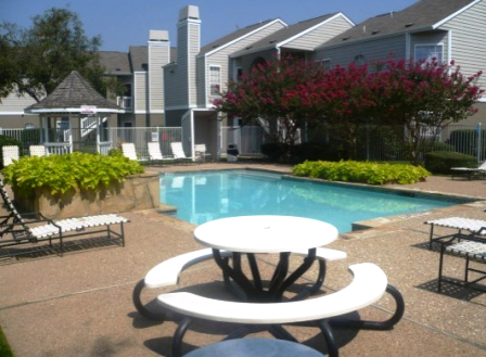 Pool Area at Summerstone Apartments