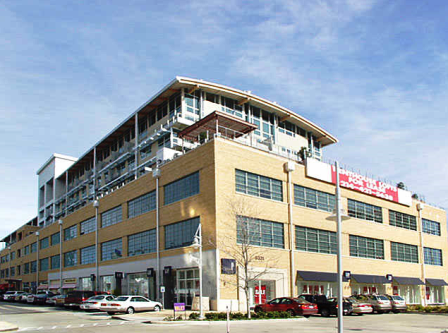 Exterior View of Mockingbird Station Lofts