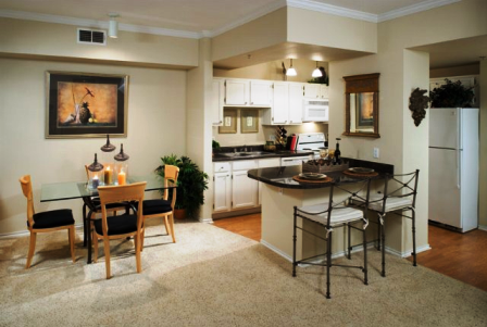Open Floor Plans at The Villas at Katy Trail