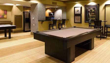 Houston Galleria Apartments with Resident Game Room