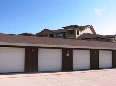 Detached Garages at Republic Park Vista
