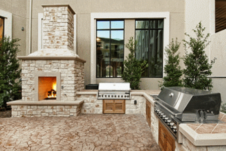 Elan at Bluffview boasts Outdoor Stainless Grills