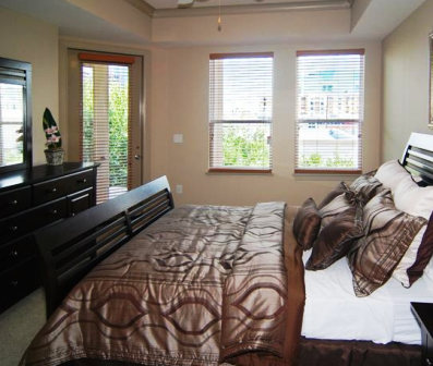 Spacious Bedroom at Villa Piana Apartments in Dallas, Texas