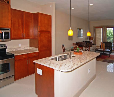 Granite Counters at Villa Piana Apartments in Dallas, TX
