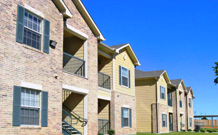 Brookside Apartments in Killeen Exterior