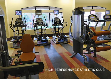 Alexan at Grand Mission offers High Performance Fitness Center