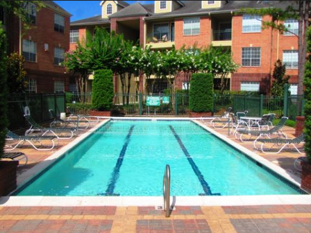 Swimming Pool at Woodway Square Apartments