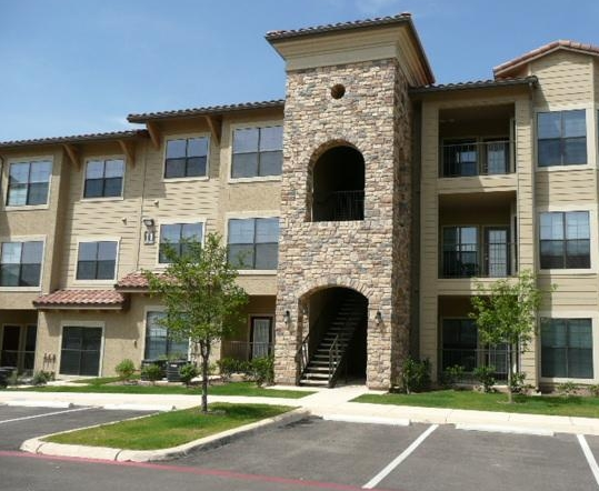 Front Exterior View of Costa Bella Apartments