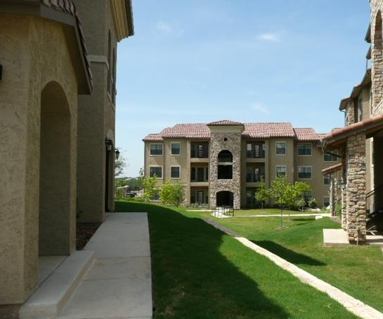 Exterior View of Costa Bella Apartments