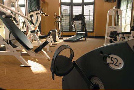 Fitness Gym at Providence at Prairie Oaks Apartments