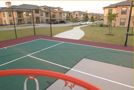 Sport Court at Providence at Prairie Oaks Apartments