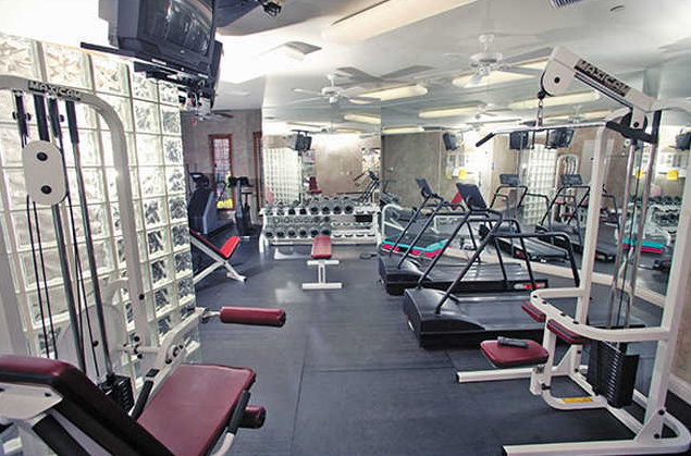 Fitness Center View of Villas at Parkside Apartments