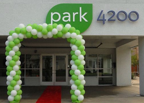 Entrance to Park 4200
