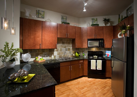 Kitchen View of 2929 Wycliff Apartments