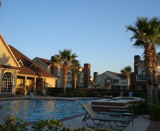 Sparkling Pool at these Friendswood, TX Apartments