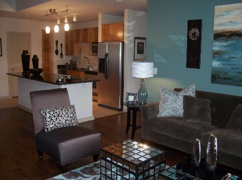 Interior View of New Dallas Apartments Uptown