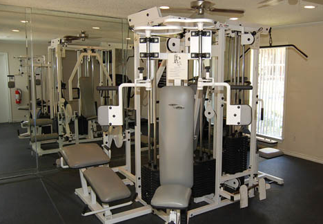 Fitness Center at Seabrook Clear Lake TX Apartments