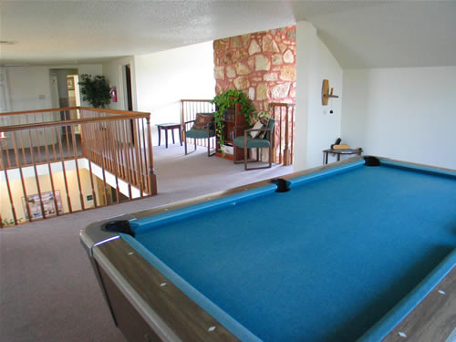 Pool Table at these Austin SOCO Apartments