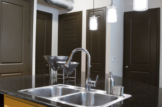 Luxury Appliances at Woodlands Apartments