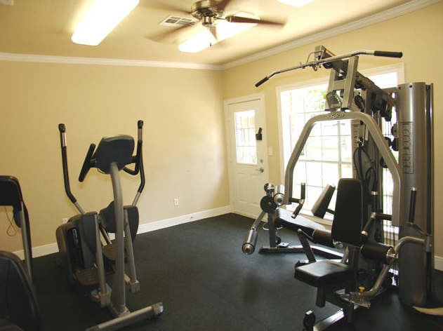 Fitness Center at Friendswood Apartments