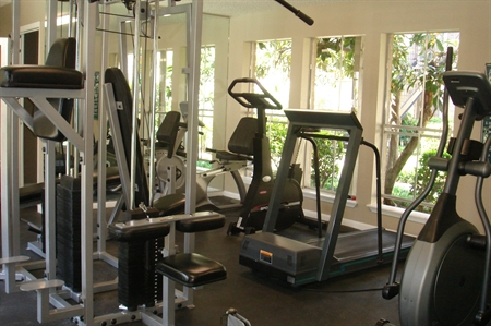 Fitness Center Photo @ Scotland Yard Apartments
