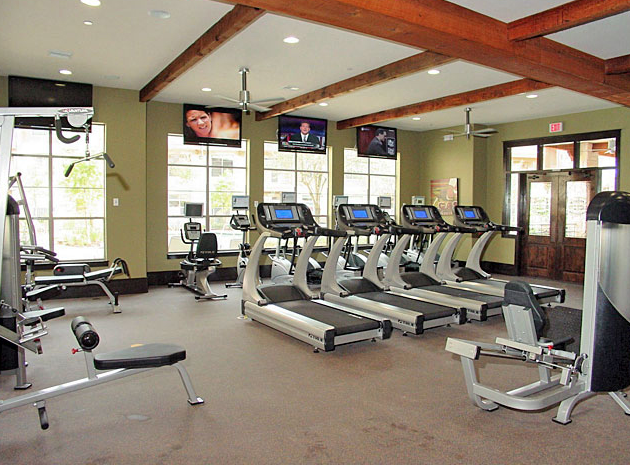 Fitness Center at Lakeview Lofts Cypress TX
