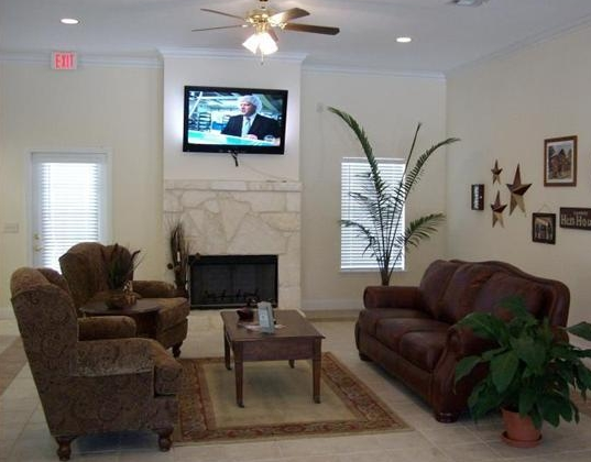 Clubhouse at Boerne TX Apartments