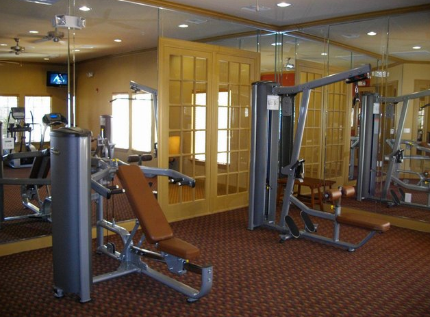 Fitness Center at Lookout Hollow Apartments