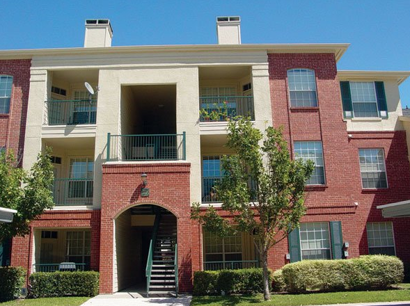 Building View of these Addison TX Apartments