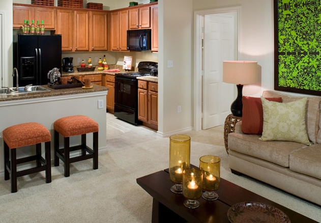 Interior View of Humble Texas Apartments