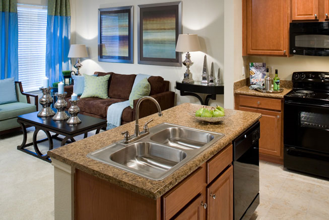 Gourmet Kitchens at these Humble TX Apartments