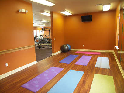 Fitness Studio at Champions Apartments Houston