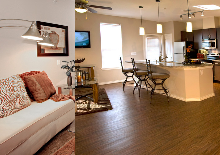 McKinney TX Apartments with Hardwood Floors