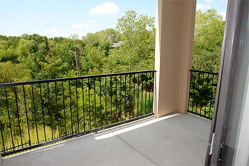 Patio View of Euless Texas Apartments