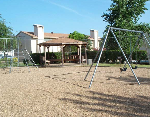 Playground at these Irving TX Apartments