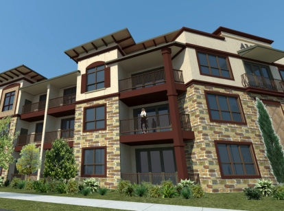 Las Colinas Apartments Exterior - AMLI at Escena